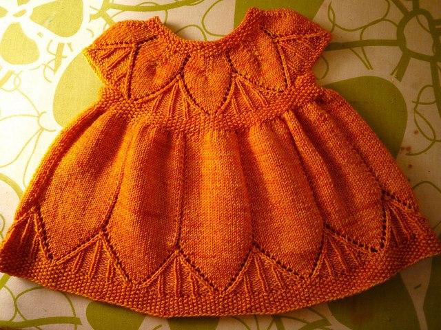 Платье для малышки.фото
