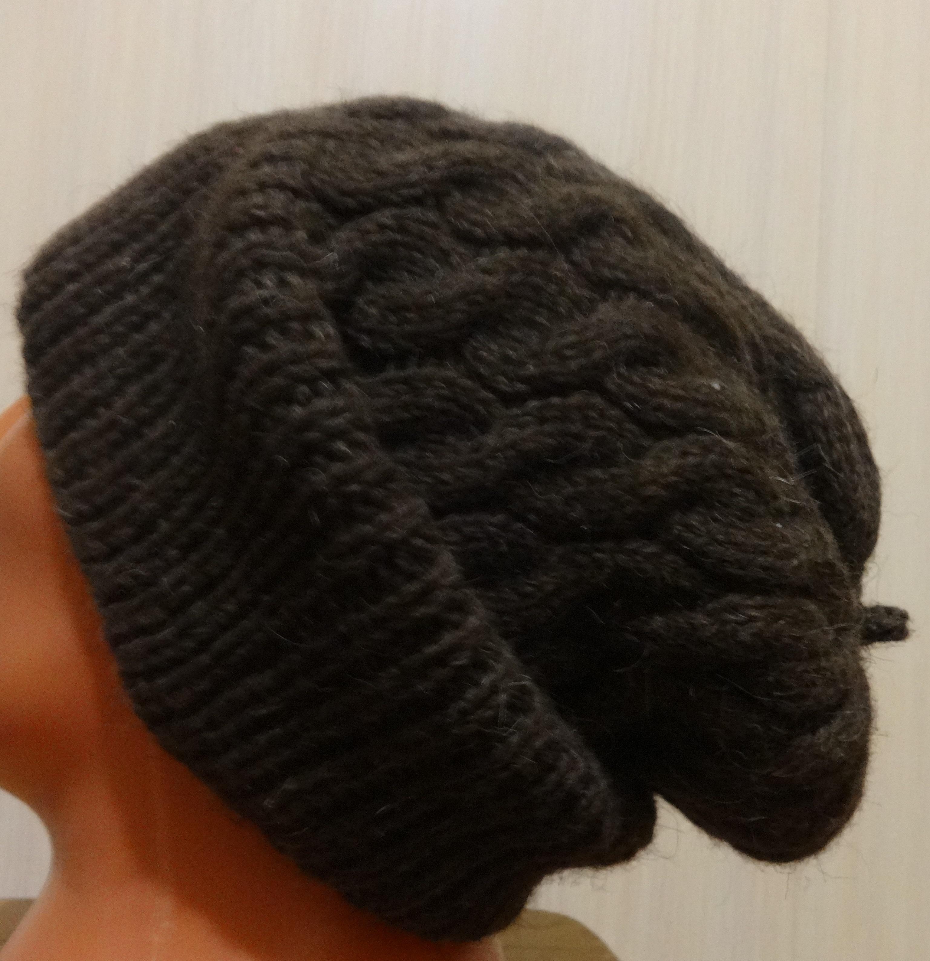 шапка бини мужская