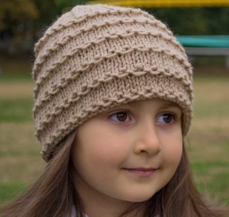 модные шапки бини для девочек блог о рукоделии и моде
