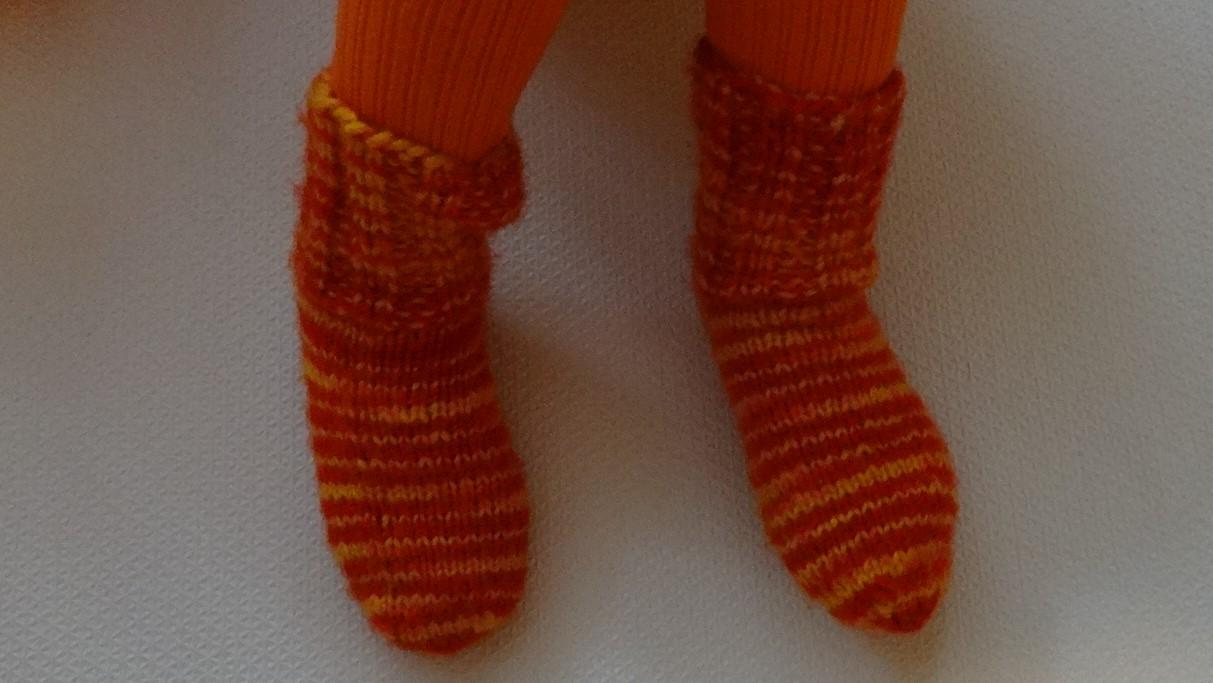 детские носки связанные спицами
