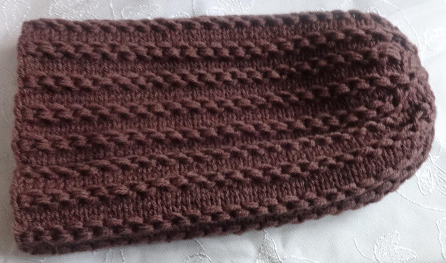 схема вязания шапочки бини