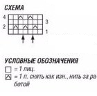 Летний ажурный топ_схема2