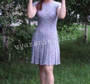 "летнее платье узор""бабочки"""