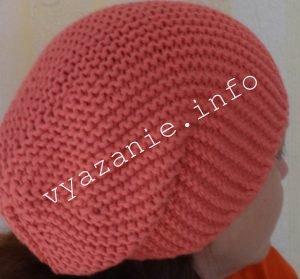 Схема вязания шапки бини