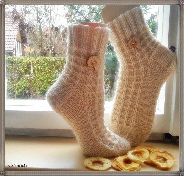 красивые связанные носки