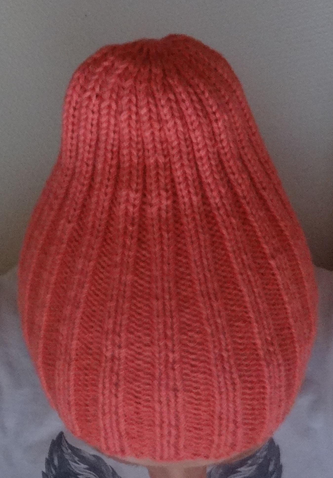 шапка резинкой спицами схема и описание все о вязании