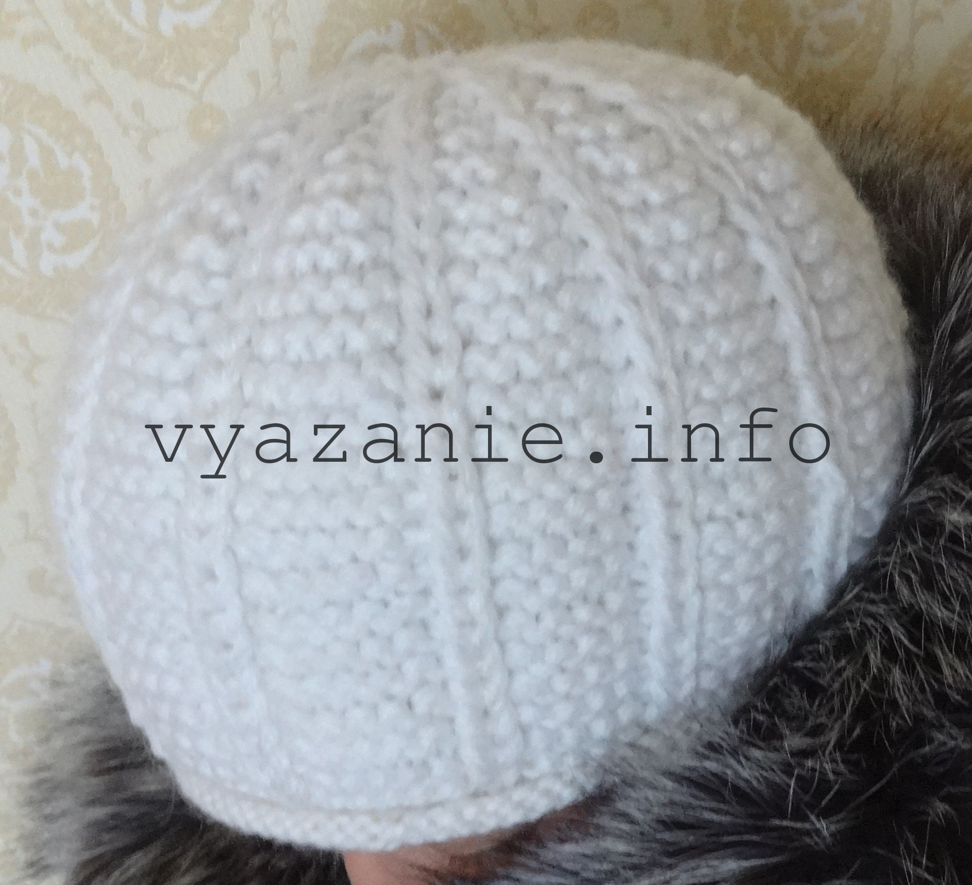 женская шапка спицами несколько вариантов все о вязании