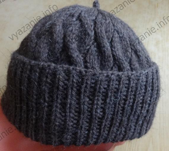 как связать мужскую шапку спицами пять вариантов все о вязании