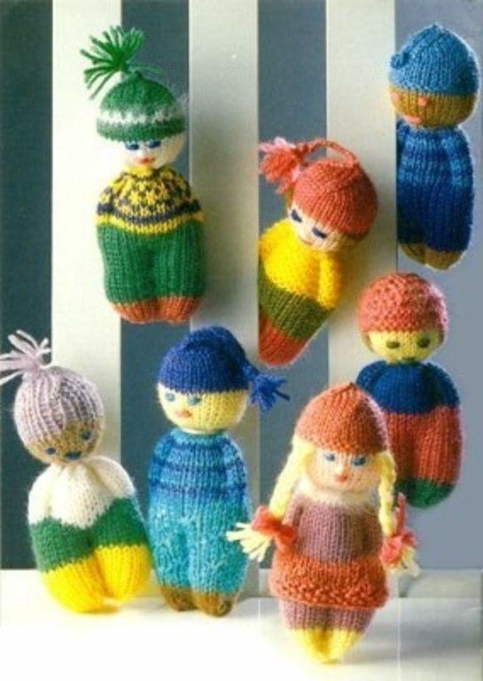 игрушки своими руками фото куклы