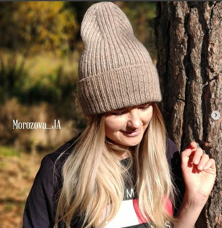 шапка бини для женщин