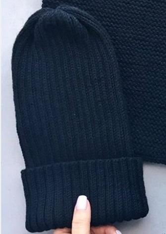 шапка тыковка спицами