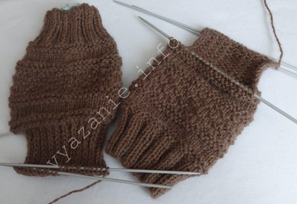 как связать носки спицами пошагово все о вязании