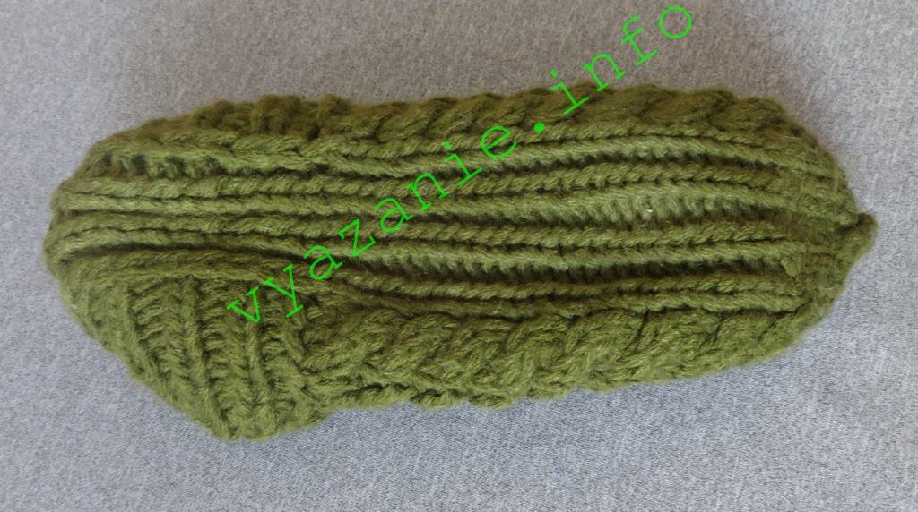 как вязать тапочки спицами схемы описание все о вязании