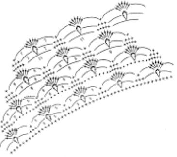 вязание воротничков