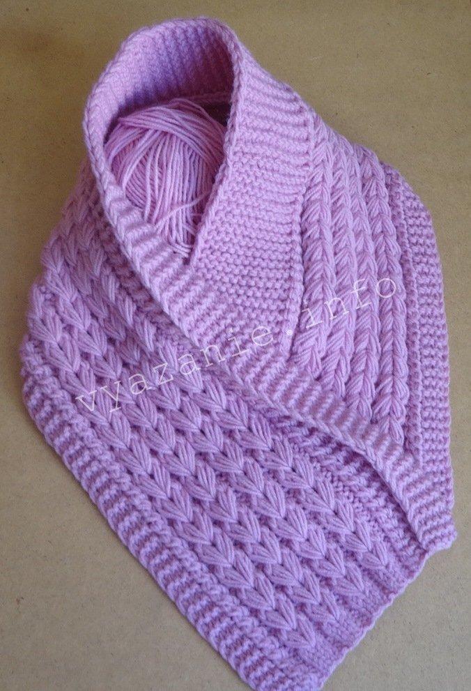 необычный шарф для женщин