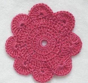 цветы крючком для начинающих