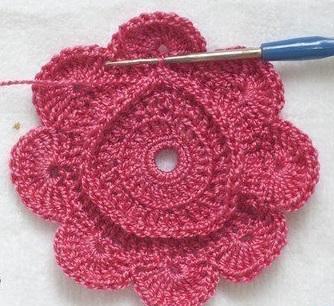 цветы крючком схемы и описание