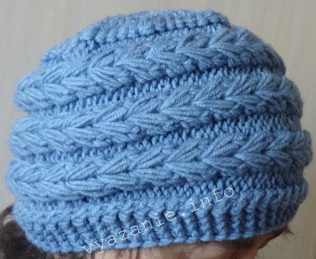 модели шапок женщин