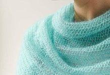 женский шарф платок