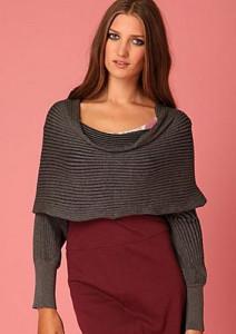 женский шарф трансформер