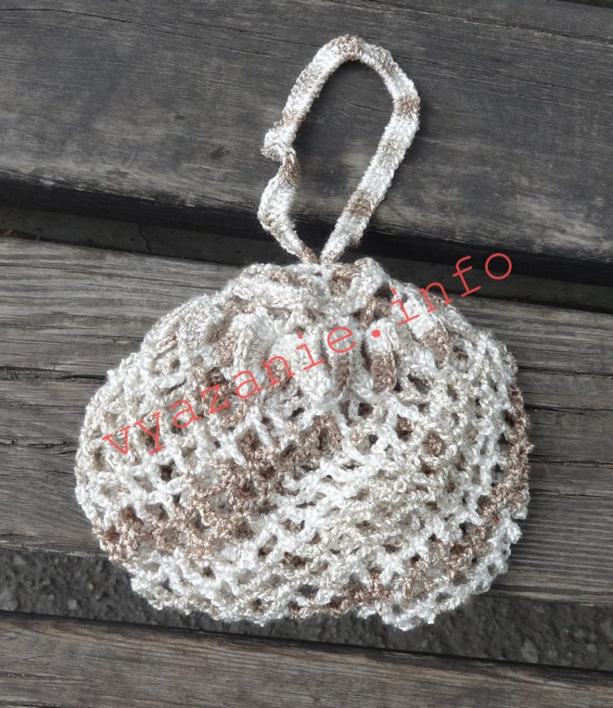 сумки крючком авоська