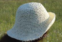 как сделать шляпку крючком