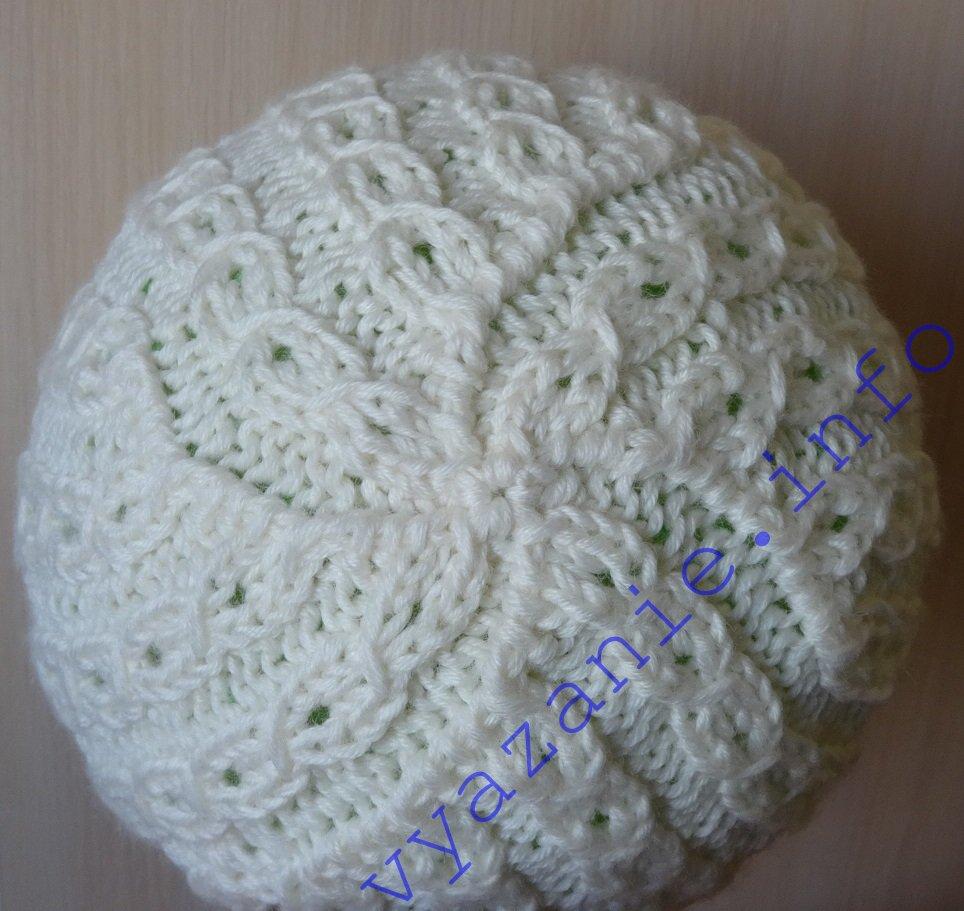 белая шапка красивая макушка