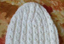 белая шапка бини