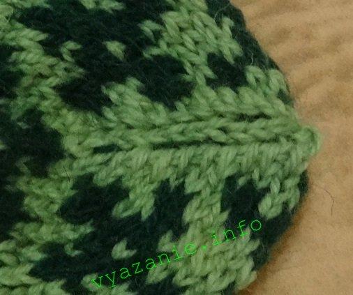 варежка вязание спицами