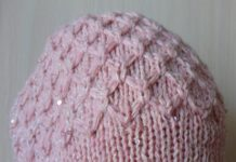 тёплая шапка для женщин