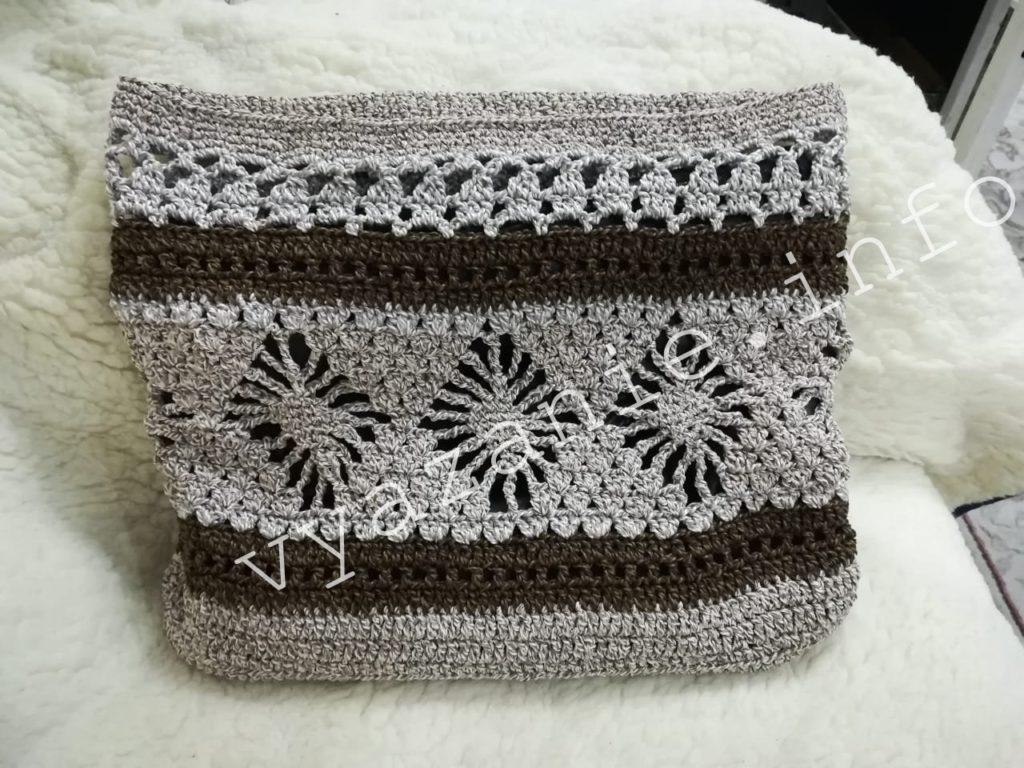 вязание сумка