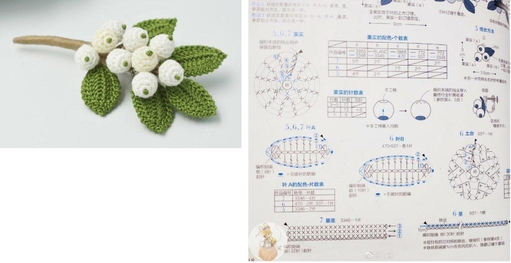 цветы на веточке
