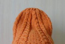 шапки бини с высокой красивой макушкой