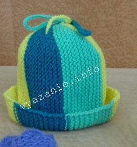 шапка бини для мальчика или девочки