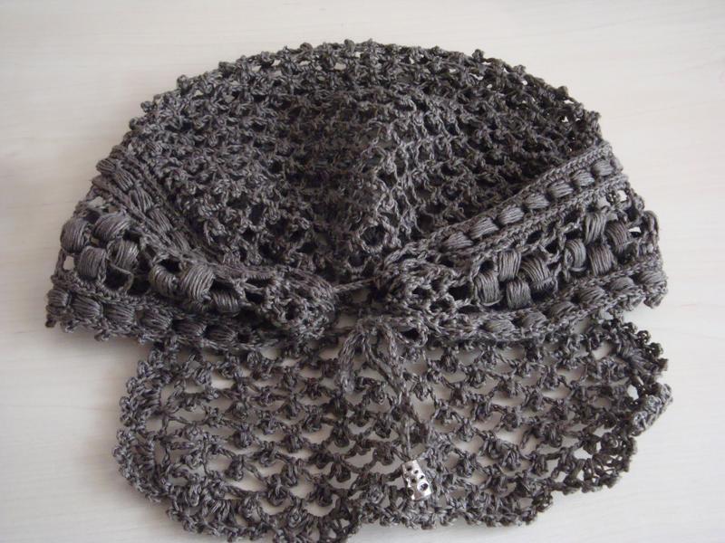 крючок вязание платок