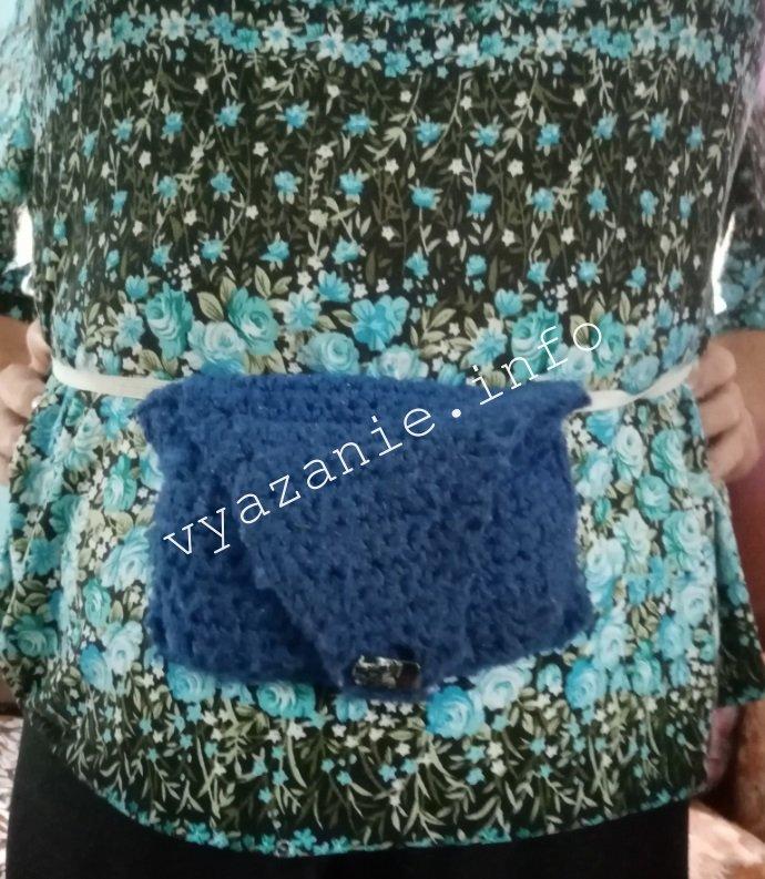 бабушкина сумка крючком