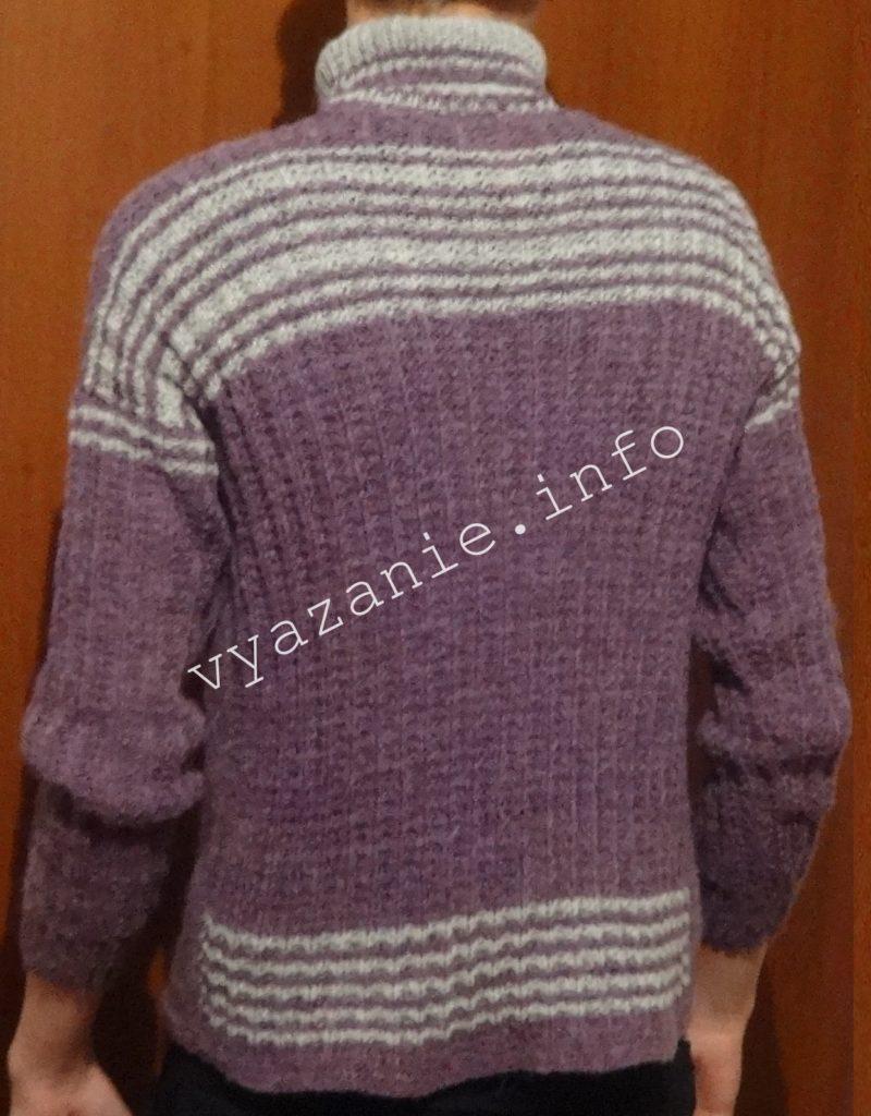 свитер вязаный