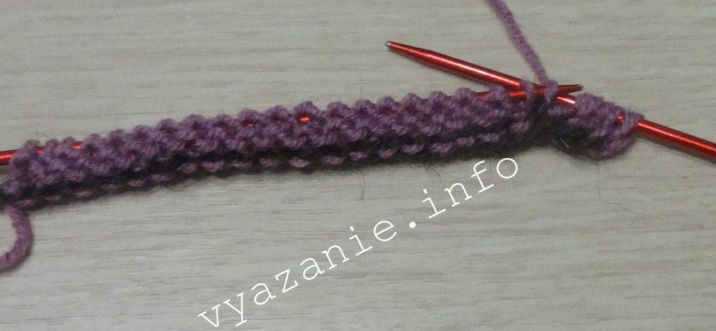 вязание спицами. фабричный набор петель