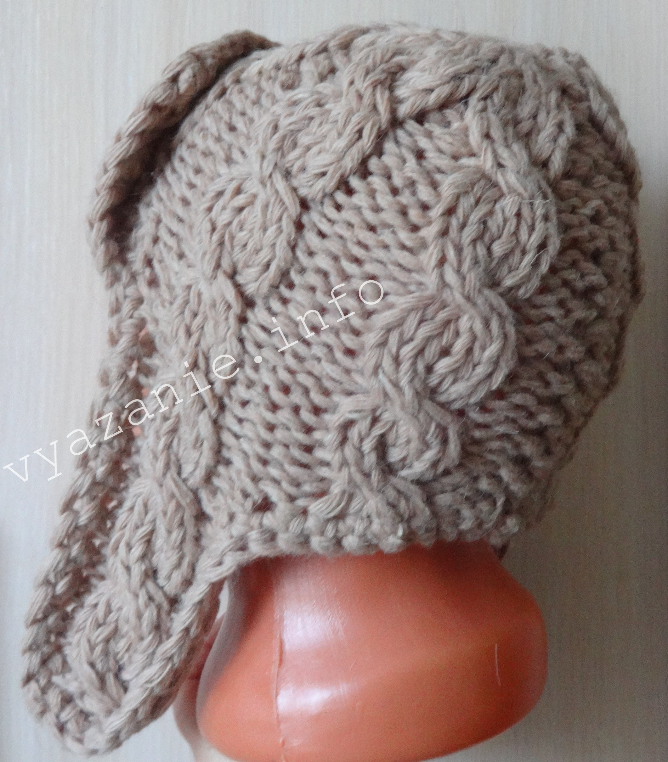 шапка ушанка женская