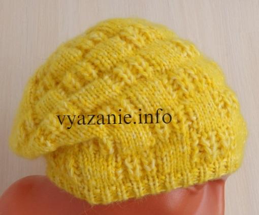 бини шапка на осень