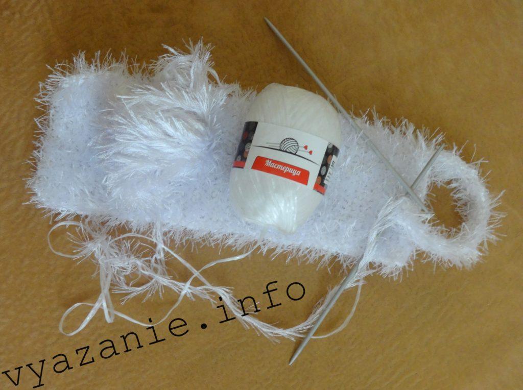мочалка вязание спицами