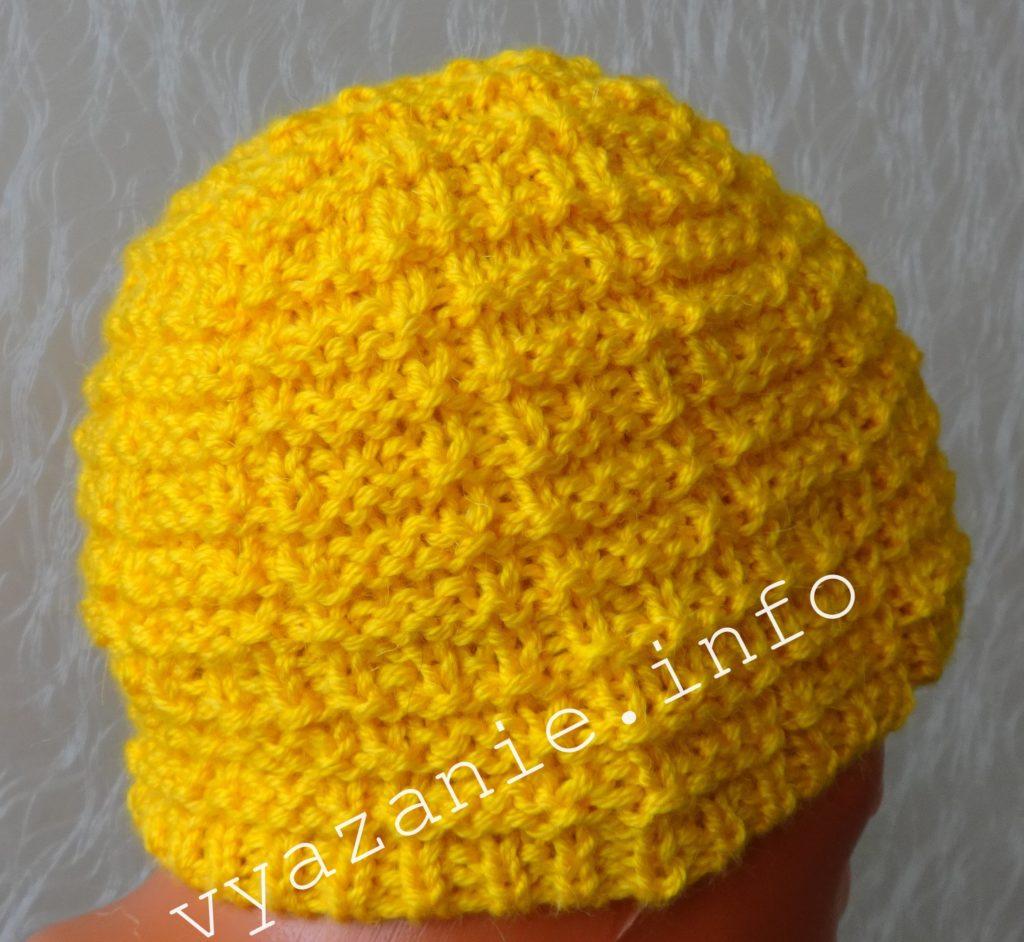 жёлтая шапка фото