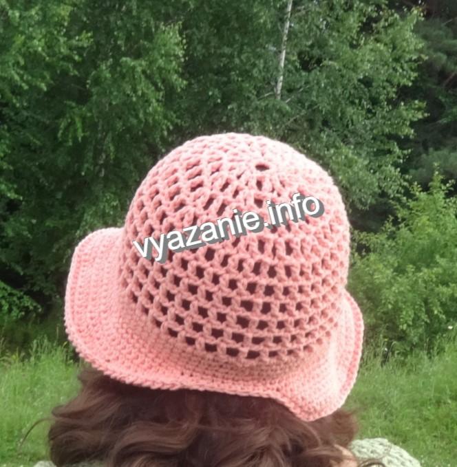 как вязать шляпу
