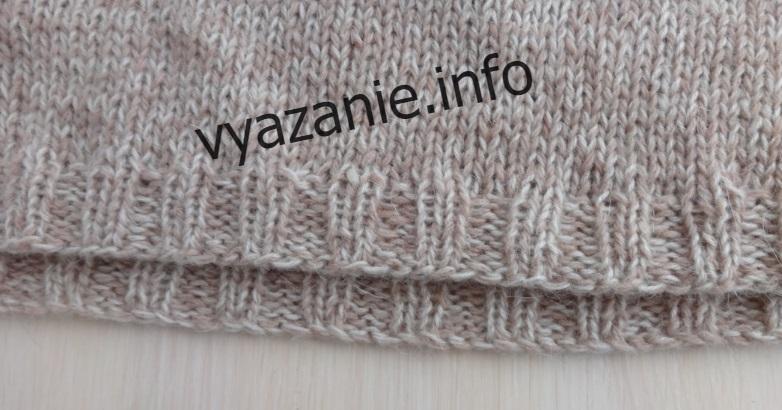 как вязать росток свитера